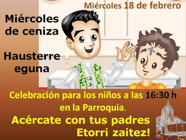 Miércoles de Ceniza cartel 2014