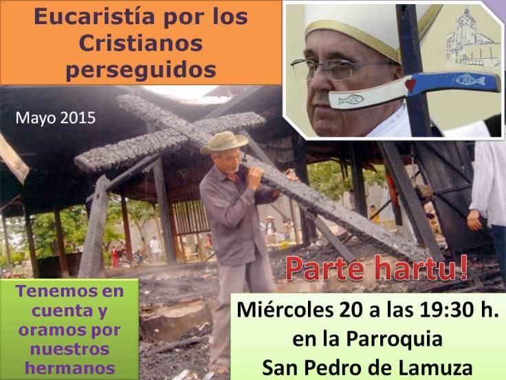 Cartel Cristianos perseguidos 2015