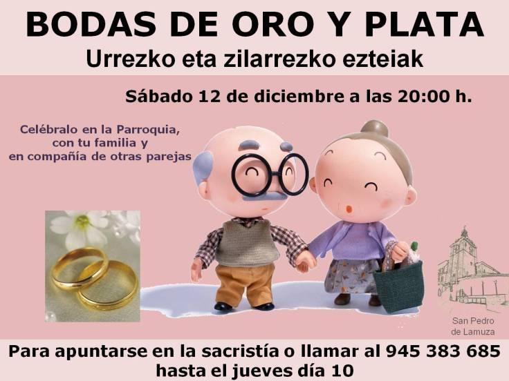 Cartel de bodas de oro