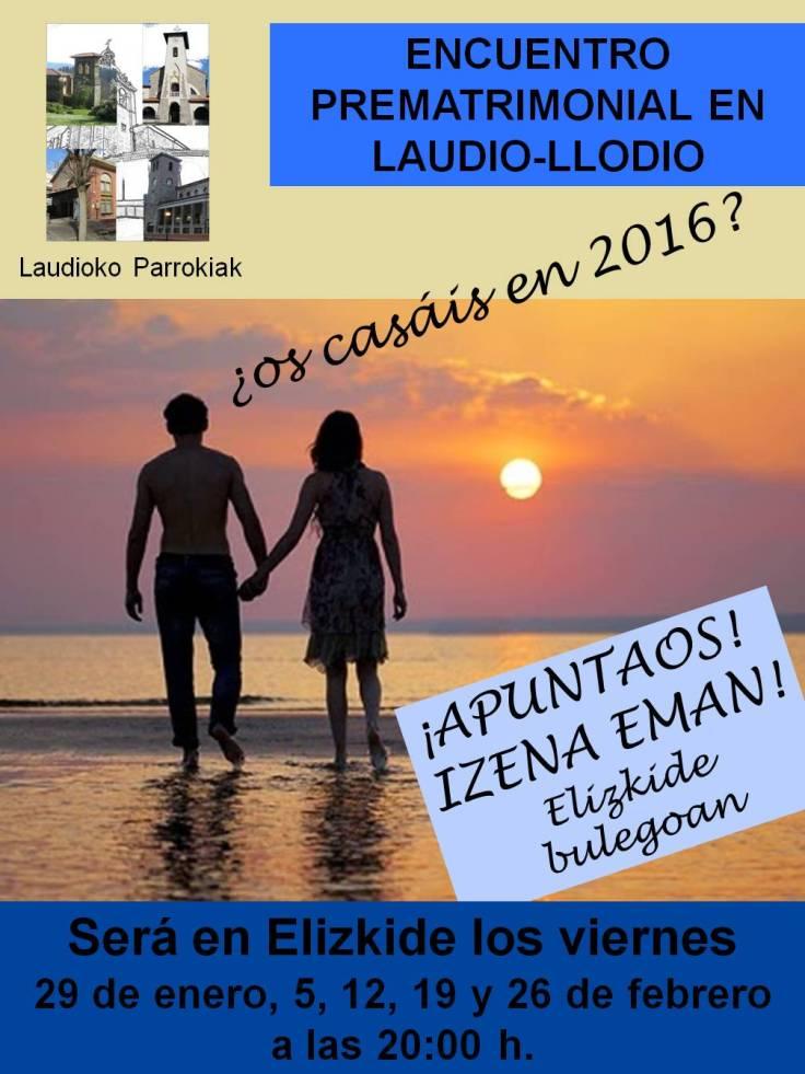 Encuentro prematrimonial 2016
